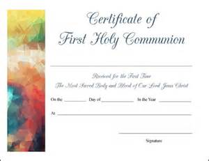 free printable baptism communion and confirmation certificates