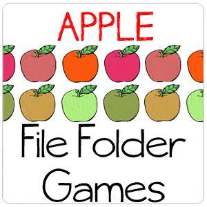 Apple File Folder Games - File Folder Fun