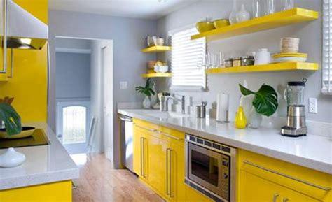 cuisine jaune et gris cocinas modernas viva el color decorar
