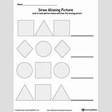 Early Childhood Patterns Worksheets Myteachingstationcom