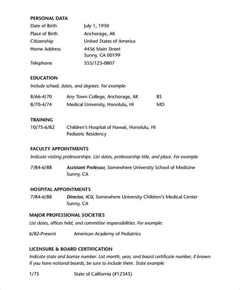 doctor resume templates  documents   psd