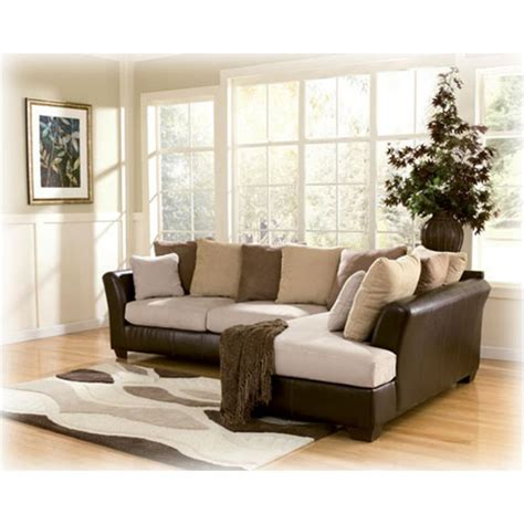 1940166 Ashley Furniture Logan  Stone 2pc Sectional Wraf