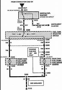 1993 Ford F150 4 9l I6  Dual Tanks  Engine Cranks  Won U0026 39 T