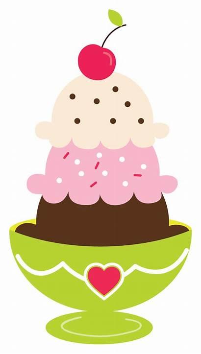 Ice Cream Social Fashioned Clip Clipart Creams
