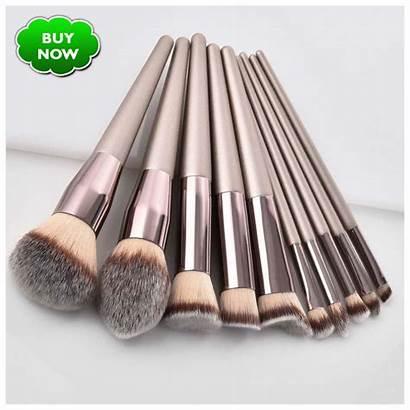Brushes Champagne Luxury Makeup Brush Eyeshadow Lip