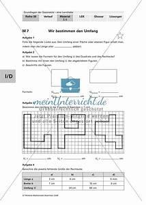 Scheitelpunkt Berechnen Aufgaben Mit Lösungen : geometrie bestimmung von fl cheninhalt und umfang mit aufgaben und l sungen meinunterricht ~ Themetempest.com Abrechnung