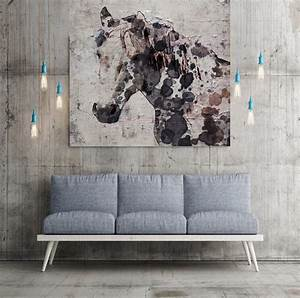 California horse extra large unique wall decor