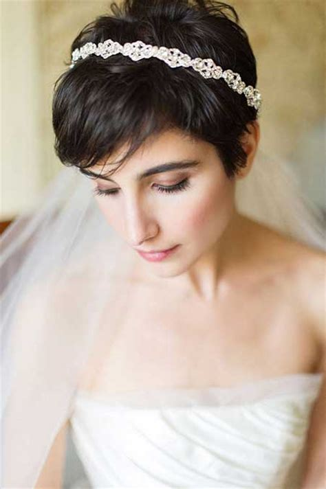 Wedding Hairstyles For Pixie Cuts by 25 Wedding Hairstyles For Hair Pretty And Attractive