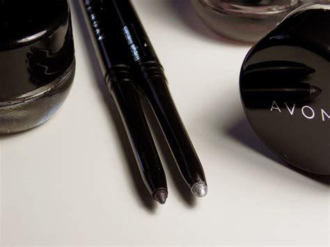 Avon Metal Mania Eyeliners True Color Smoky Grey And