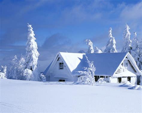 casa cubierta de nieve  fondos de pantalla