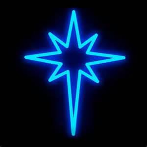 blue brilliant brand led star lighted motif 17 3 inches x 13 8 inches birddog lighting