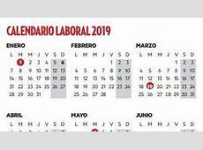 El calendario laboral de 2019 tendrá ocho festivos