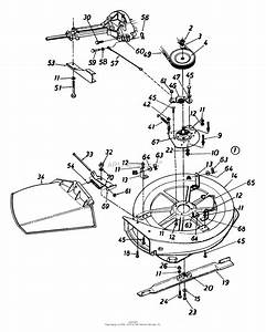 Mtd 136b560b302  1996  Parts Diagram For Deck Assembly