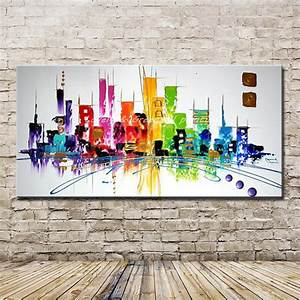 Hand Painted Modern Abstract Decoration Oil Painting