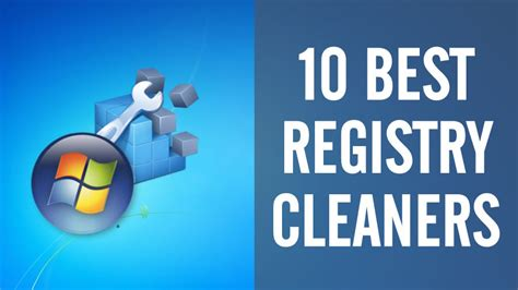 Best Windows 8 Registry Cleaner by Top 10 Free Registry Cleaners For Microsoft Windows Pc