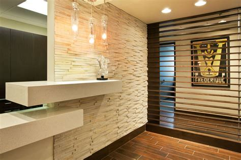 office wall panelling designs small reception design gallery panels interior decorating themes