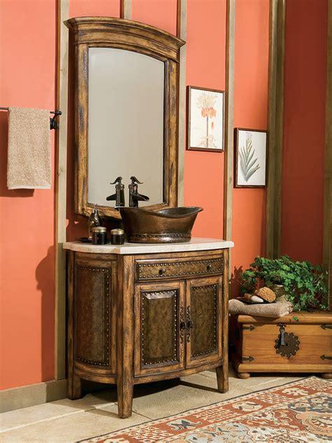 single vessel vanity 36 quot rustico single vessel bath vanity bathgems com