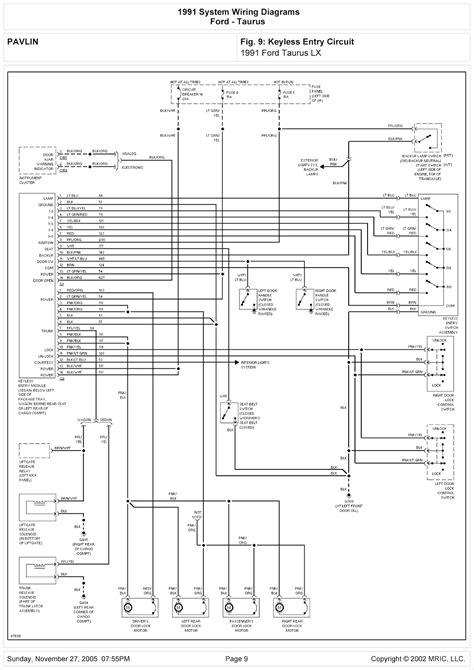 2004 ford taurus wiring schematic