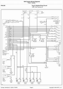 2006 Ford Taurus Wiring Schematic Picture Diagram