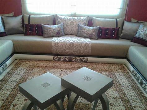 canapé en cuire salon marocain moderne salon séjour marocain 2018
