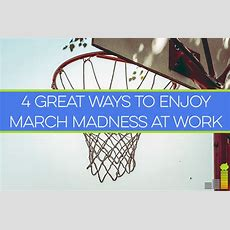4 Great Ways To Enjoy March Madness At Work  Frugal Rules