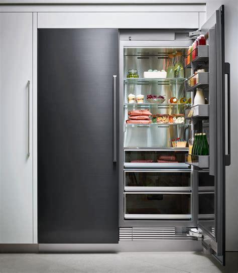 drrrap dacor modernist  flush column fridge
