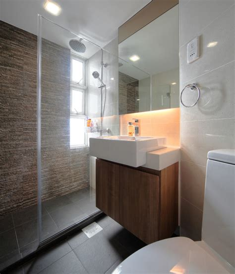 Modern Condo Bathroom Ideas by Pandan Valley Condo Contemporary Bathroom Other