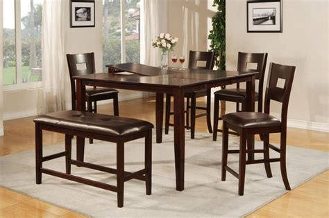 glass top wooden dining room table  house