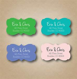 ornate return address label personalized address labels With wedding invite envelope stickers