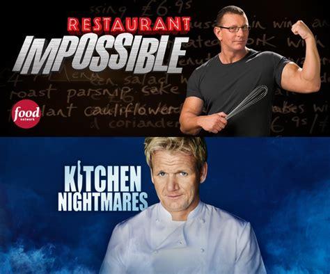 Kitchen Nightmares Vs Hell S Kitchen restaurant impossible vs kitchen nightmares the