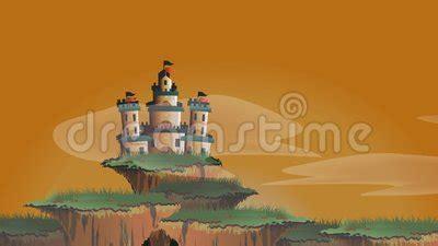 cartoon animation   fairy tale fantasy castle