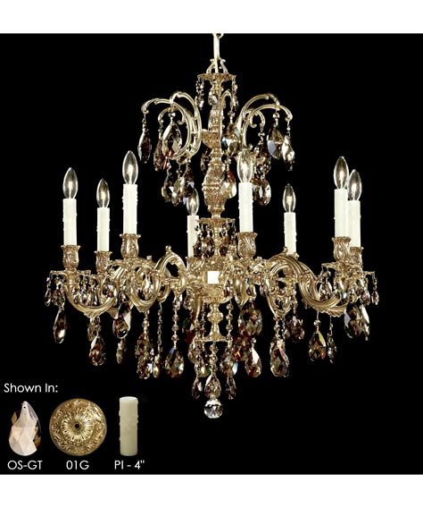american brass and chandeliers american brass and ch9714 marlena 27 inch
