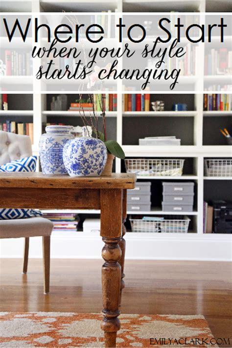 start   style starts changing