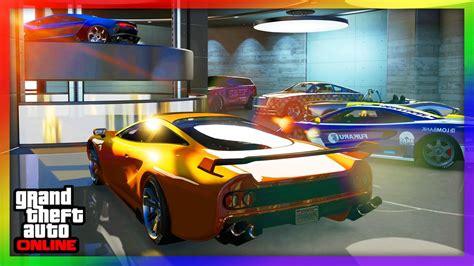 Gta 5 Online 60 Auto Garage!!