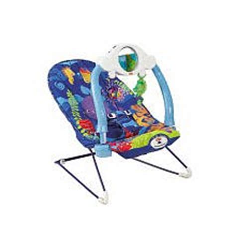 fisher price wonders blue sea baby bouncer infant bouncers and rockers