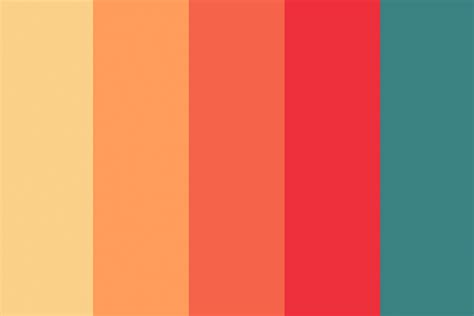 warm color scheme how to use warm color in design projects design shack