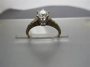 two tone 14 karat gold antique engagement ring under With wedding rings 2000