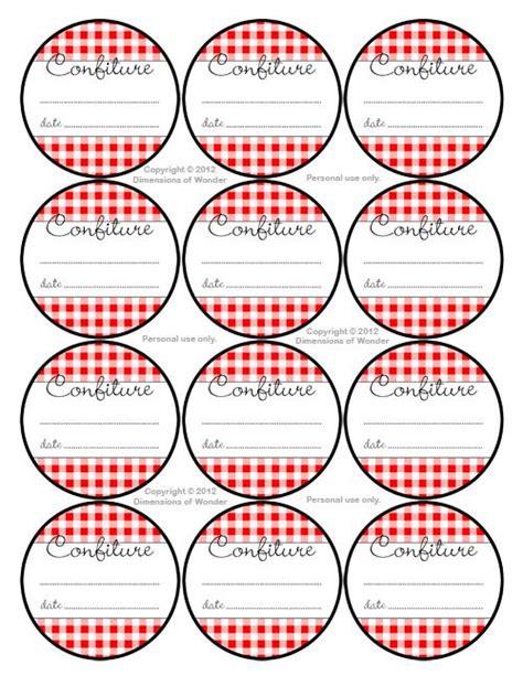 etiquettes pour pots de confiture a imprimer etiquettes 224 confiture scrapbooking 224 imprimer pots 201 tiquettes de pot de
