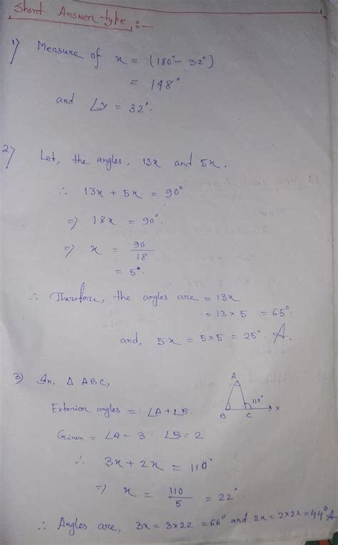 lines  angles extra questions solution  class  cbse