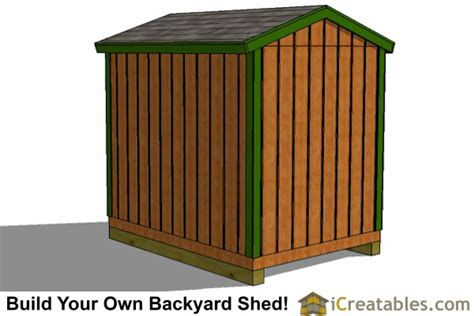 6x8 Storage Shed Plans by 6x8 Shed Plans Storage Shed Plans Icreatables