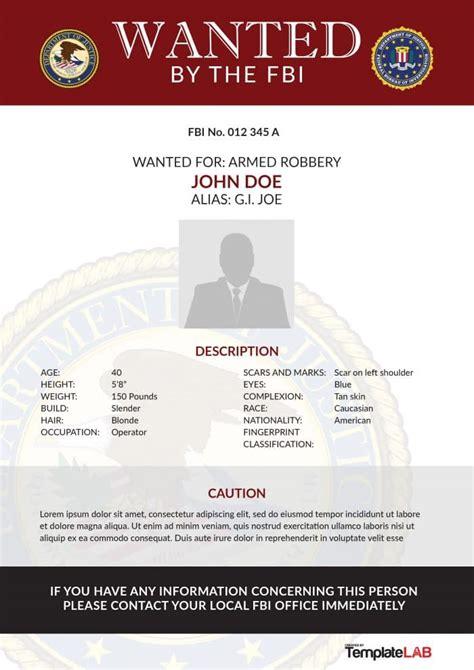 fbi wanted poster generator   aashe