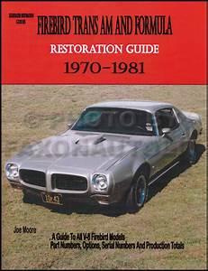 1970 Camaro  Firebird  U0026 Trans Am Body Repair Shop Manual
