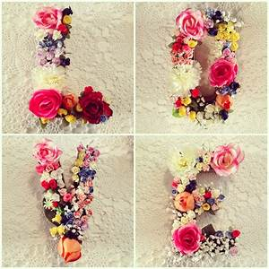 flowers love floral letters w e d d i n g pinterest With love letters with flowers