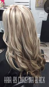 Ash blonde highlights with chocolate brown lowlights and ...