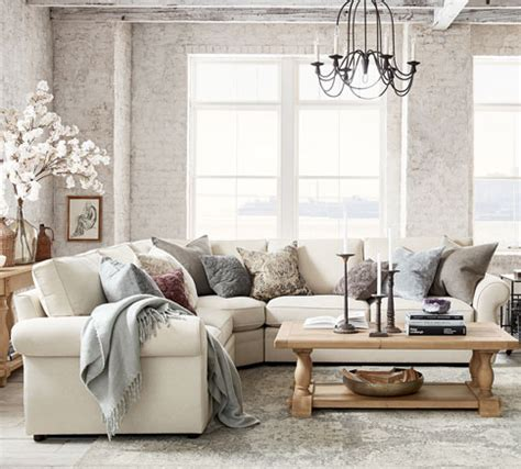 living room ideas furniture decor pottery barn