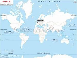 Carte Du Monde En Liège : localisation de la belgique sur la carte du monde pays ~ Melissatoandfro.com Idées de Décoration