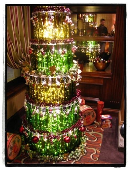 christmas trees made of bottles a few of the best wine bottle trees your wine