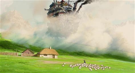 Howl S Moving Castle Wallpaper Widescreen Howl 39 S Moving Castle Wallpaper And Background Image 1920x1040 Id 420265