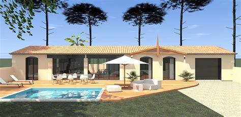 style de maison moderne plain pied construction extension et r 233 novation de villa de luxe 224 arcachon mcc construction