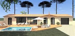 Style De Maison : construction d 39 une maison plain pied style chais bordelais ~ Dallasstarsshop.com Idées de Décoration